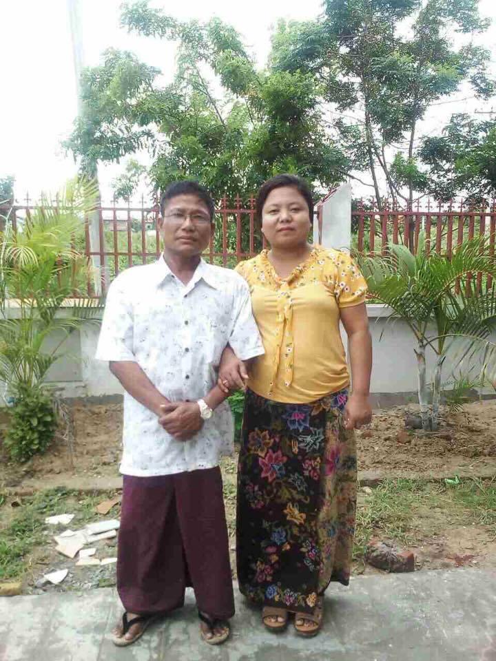 Pastor Tha Ceu and wife